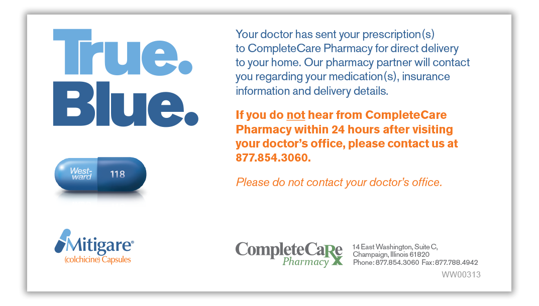 CompleteCare Pharmacy Patient Card